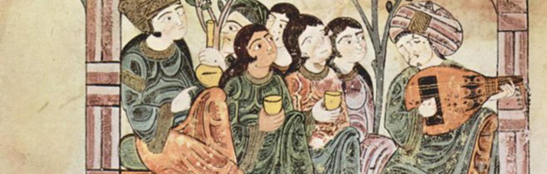 מג'לס, איור מן המאה ה-13