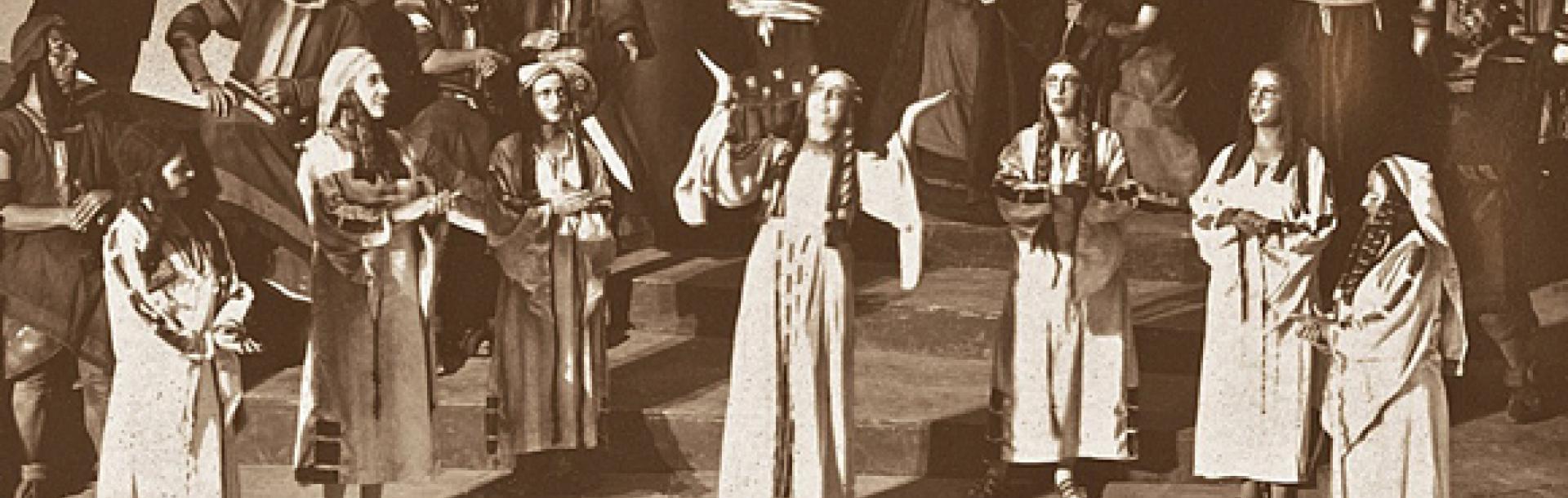 ירמיהו מאת סטפן צווייג, בבימויו של משה הלוי, אהל, 1929