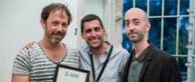 """יונה רוזנקיאר- סטודנט בית הספר, זכה בפיצ'פוינט של פסטיבל הקולנוע ירושלים עם הפרויקט """"הדרך לאילת"""" בפרס YAPIMLAB"""