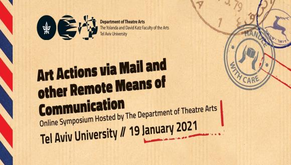 Art Actions via Mail and other Remote Means of Communication
