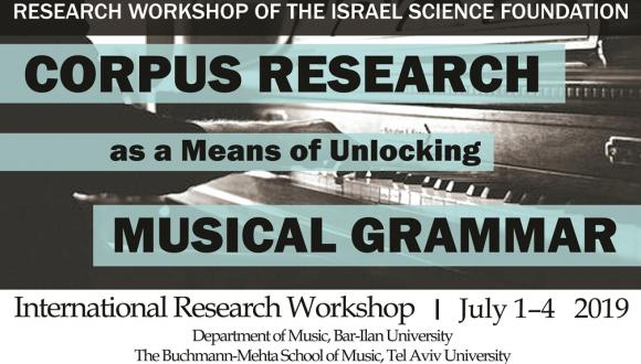 Corpus Research as a Means of Unlocking Musical Grammar International Research Workshop