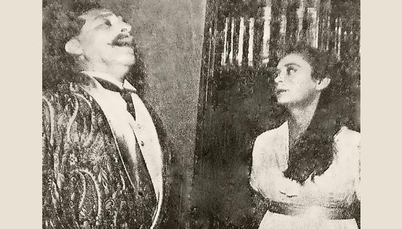 בעלת הארמון מאת לאה גולדברג,  תיאטרון הקאמרי, 1955. חנה מרון וזלמן לביוש. ויקיפדיה