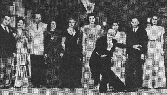 ראיון בלי-לה-לו, תיאטרון לי-לה-לו, 1945