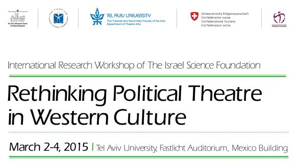 Rethinking Political Theatre in Western Culture