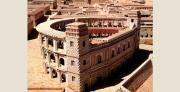 התיאטרון הרומי בירושלים, דגם בית שני, מוזיאון ישראל